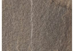 Keramik Terrassenplatte 60x60x2 cm Pietra di Faedis anthrazit-rot