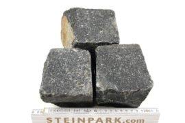 Neues Basalt Kleinpflaster 8-11 cm regelmäßig