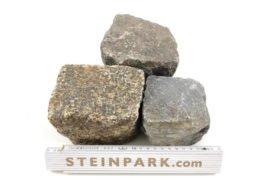 Gebrauchtes Granit Kleinpflaster 8-11 cm regelmäßig-unregelmäßig Box A32