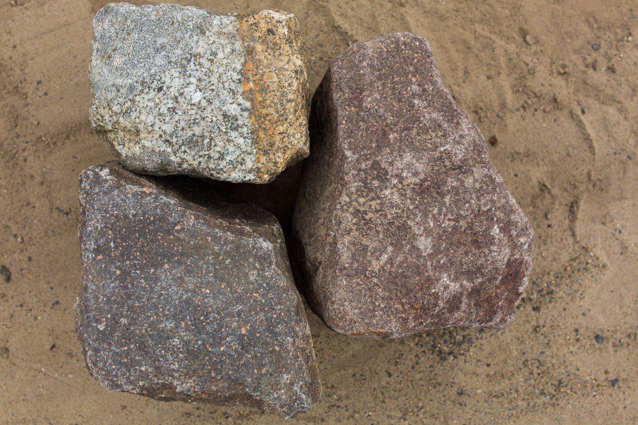 Granit Feldsteinpflaster box17 bunt gebraucht 4