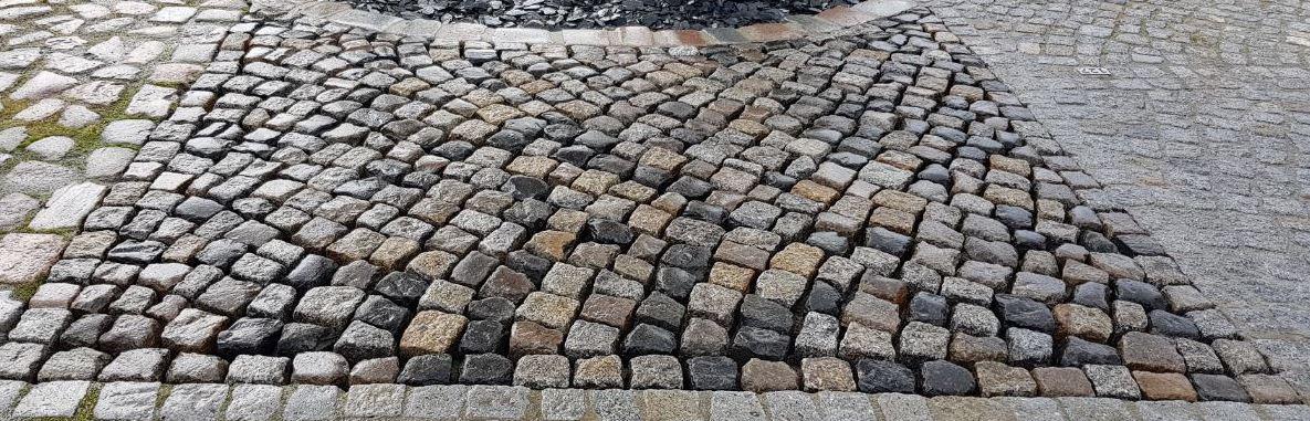 Granit Kleinpflaster Box55 bunt gebraucht