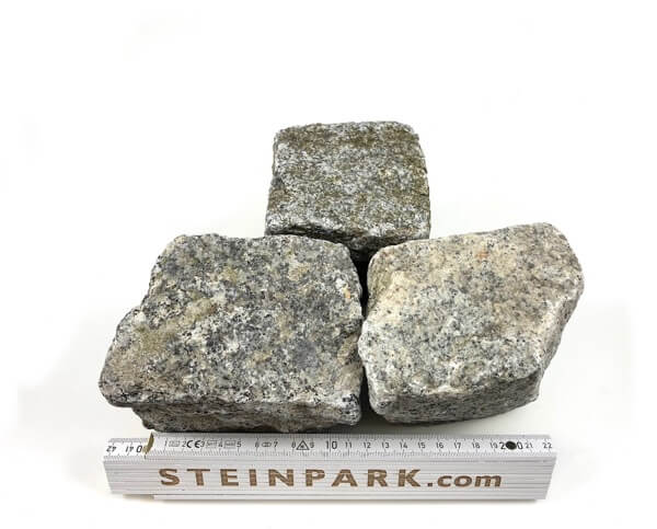 Gebrauchtes Granit Kleinpflaster 8-11 cm regelmäßig-unregelmäßig B12a