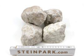 Gabionensteine aus Granit, Basalt, Kalkstein