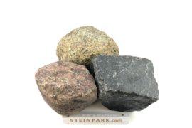 Gebrauchtes Granit Feldsteingroßpflaster 8-25 cm unregelmäßig
