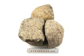 Gebrauchtes Granit Feldsteingroßpflaster 10-25 cm unregelmäßig