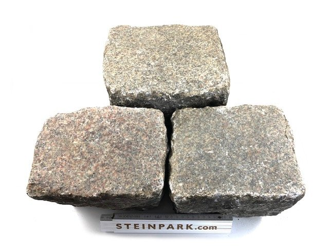 granit-gneis-großpflaster-reihenpflaster-gebraucht-rot-bunt-gespalten-glatte-oberfläche-box64