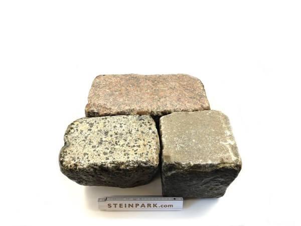 Gebrauchtes Granit Großpflaster 18-30 cm Reihenpflaster
