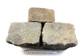 Gebrauchtes Granit Großpflaster 16-28 cm Reihenpflaster bunt