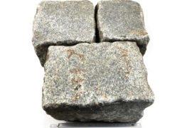 Gebrauchtes Granit Großpflaster 16-28 cm Reihenpflaster gräulich