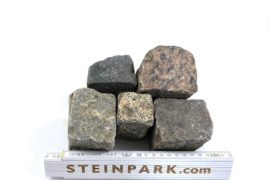 Gebrauchtes Granit Mosaikpflaster 4-6 cm B30