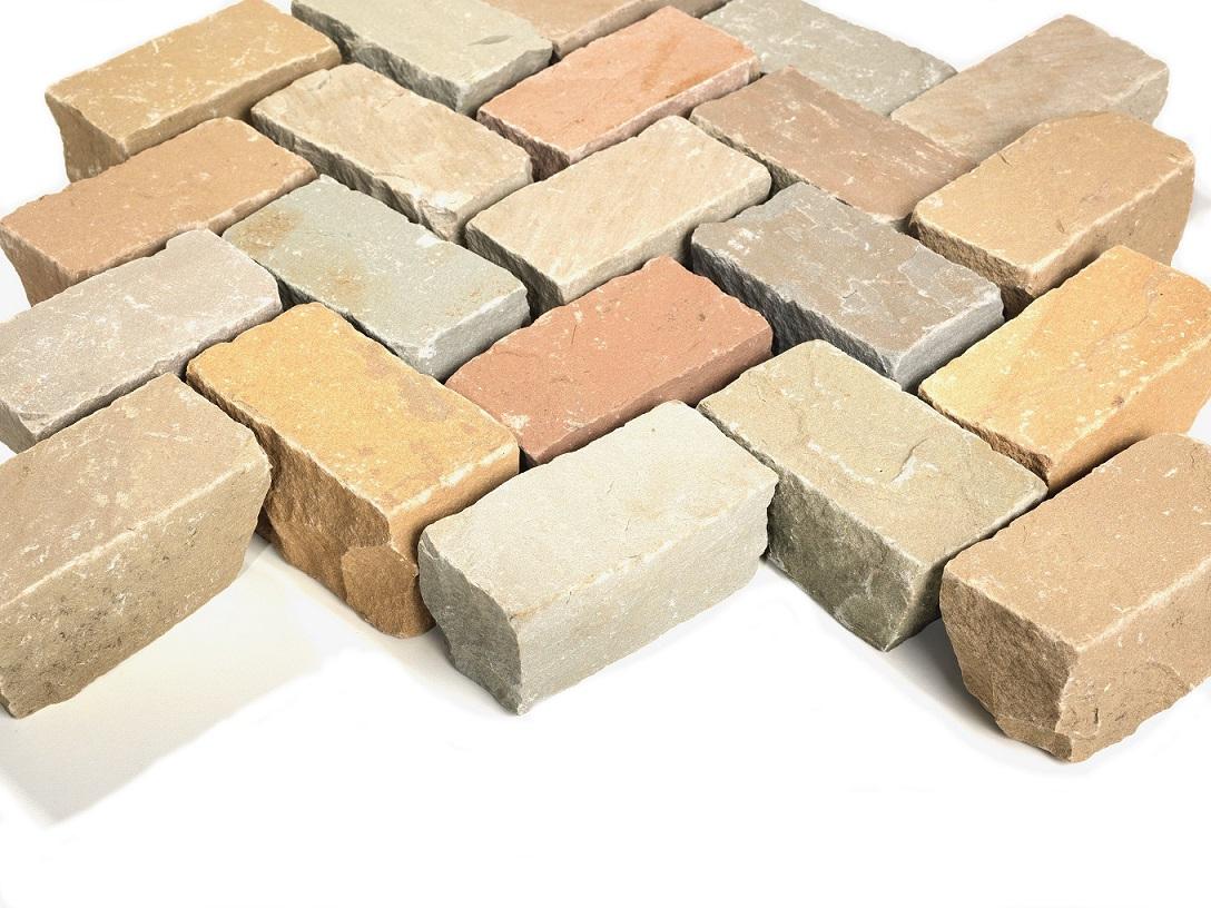 Bauernpflaster-6x12x5-7 cm gespalten