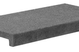 Poolplatten Granit 60x30x5/2,5 cm dunkelgrau