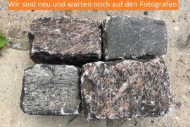 Gebrauchtes Granit Großpflaster Bindersteine