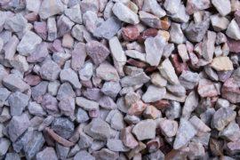Ziersplitt Kalkstein Arabella 8-16 mm rosè-bunt
