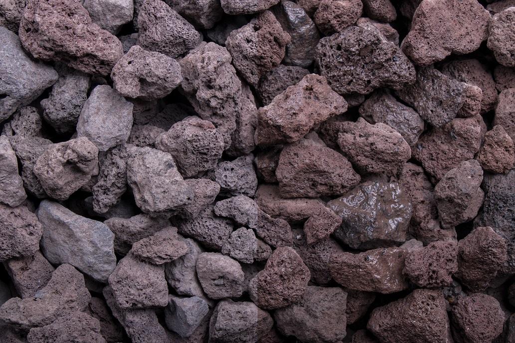 Ziersplitt Lava 16-32 mm braun-rot