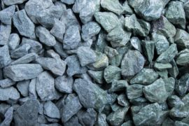 Ziersplitt Kalkstein Neugrün 15-30 mm grün