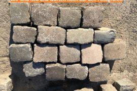 Gebrauchtes Granit Großpflaster Reihenpflaster