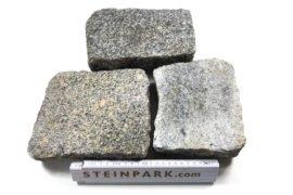 Edel Granit Pflasterplatte 4-6 cm grau regelmäßig