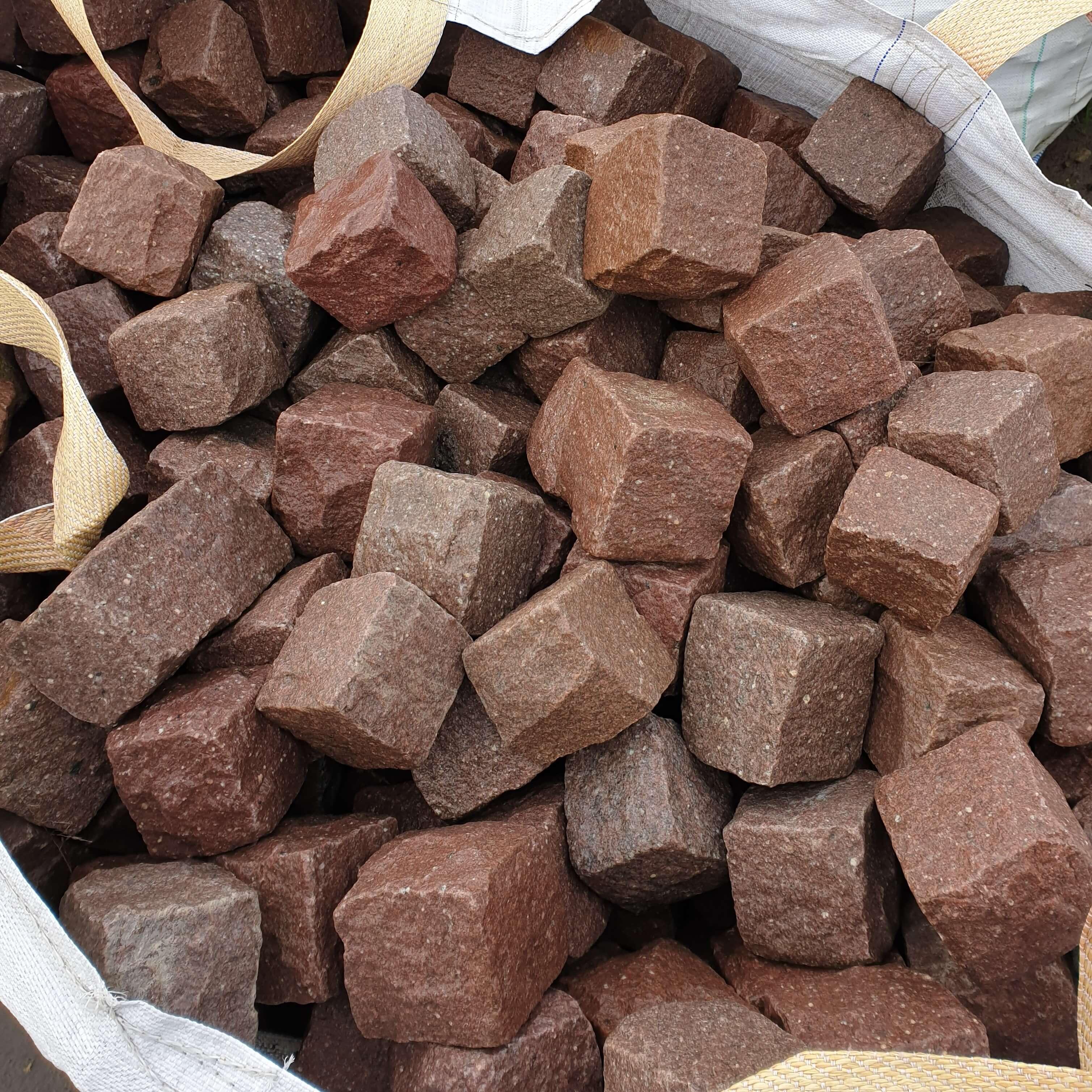 granit-kleinpflaster-rot-gebraucht