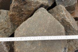 Gebrauchte Granit Bischoffsmütze 20-25 cm