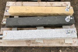 Naturstein Wasserhahn 12x12x100 cm mit Anschluss