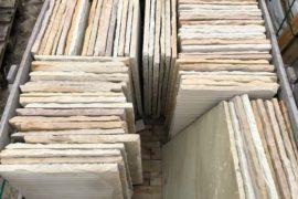 Quarz-Sandstein-Terrassenplatte 40x60x2,5 cm bunt
