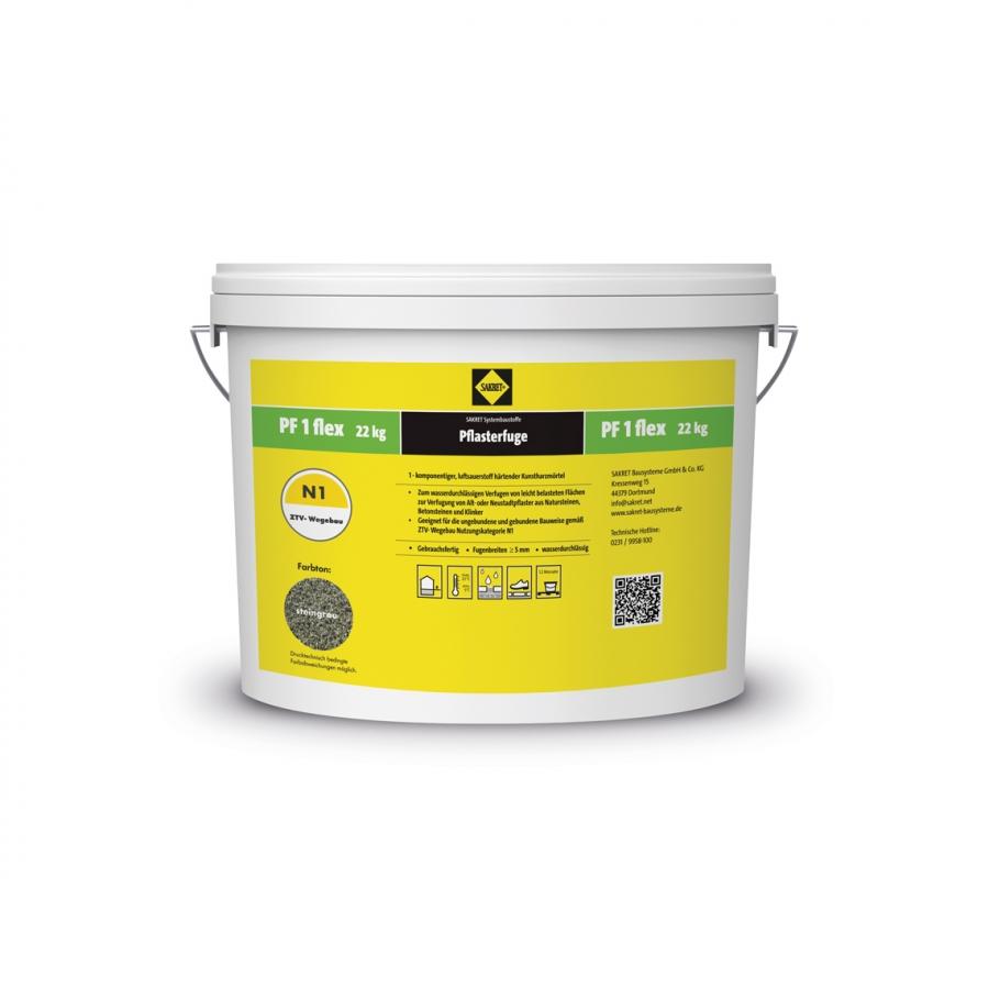 Pflasterfugenmörtel PF 1 flex sand wasserdurchlässig