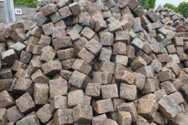 Gebrauchtes Granit Großpflaster 18-24 cm Reihenpflaster