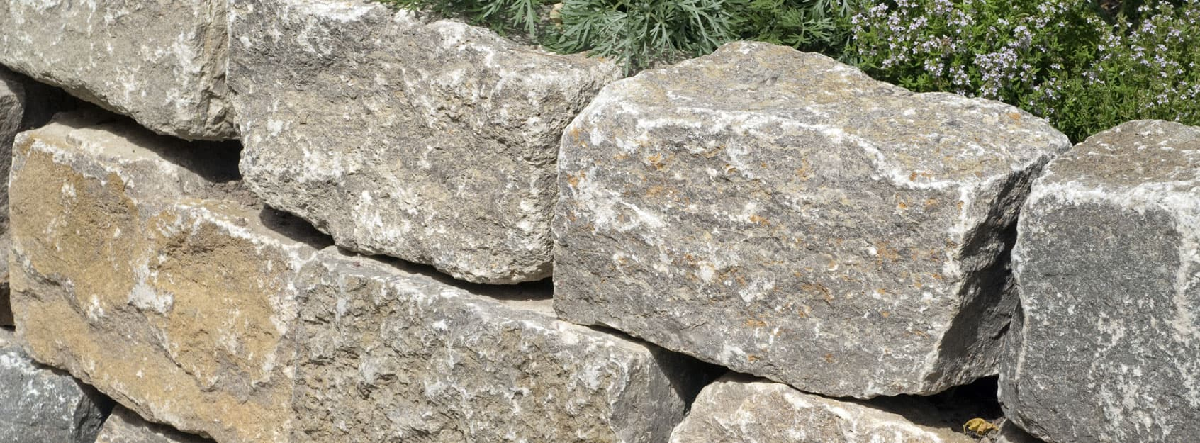 Muschelkalk Mauerstein