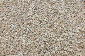 Ziersplitt Kalkstein Amarillo Caliza 8-16 mm gelb-grau