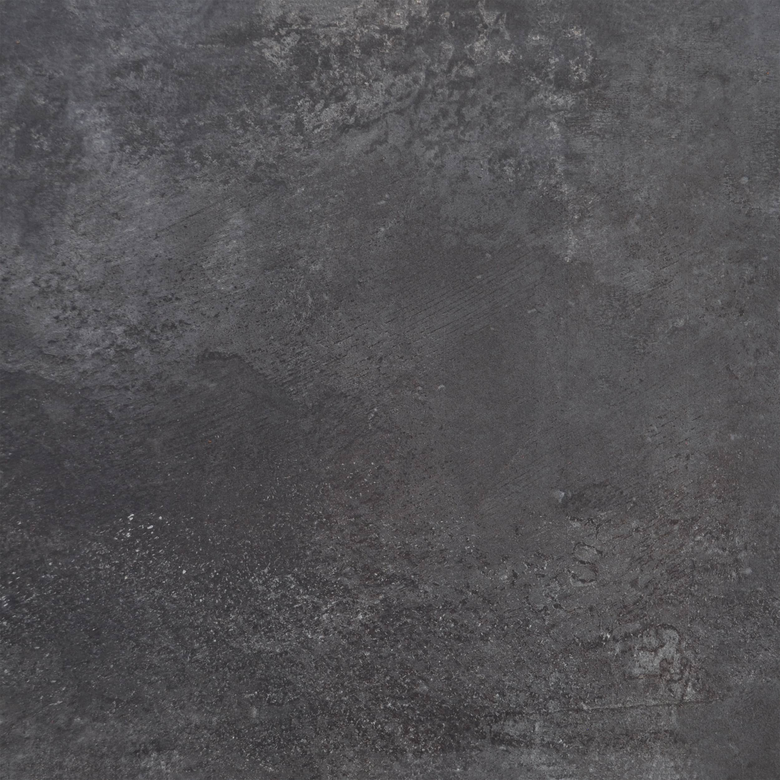 Keramik Terrassenplatte 60x60x3 cm Carbon anthrazit-metallic