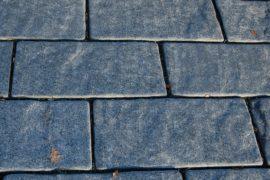 Schiefer Bodenplatte 50x25x4 cm anthrazit-grau