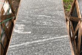 Gneis Terrassenplatten 40x60x3 cm geflammt/gebürstet