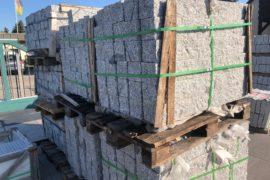 Granit Edelpalisaden 12x12x100 cm gestockt