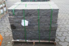 Basalt Blockstufe 15x35x100 cm anthrazit