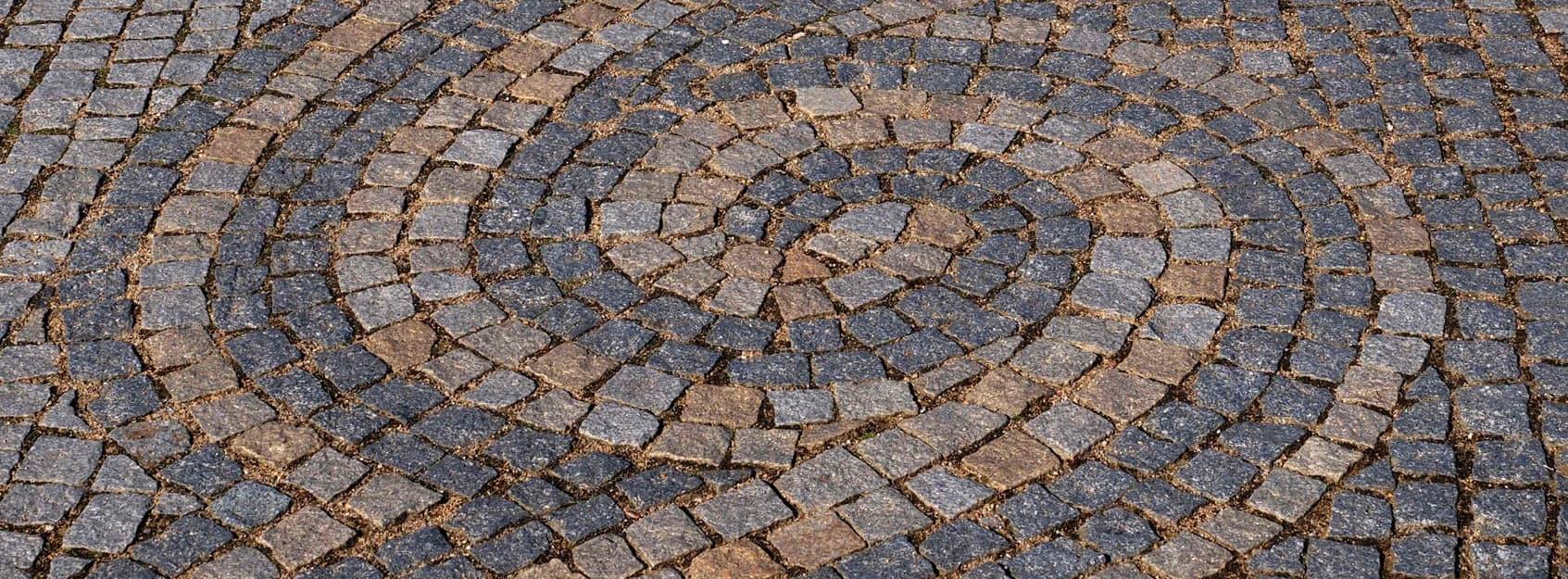 Bernburger Mosaikpflaster Steine