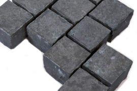 Basalt Edelkleinpflaster 10x10x8 cm anthrazit