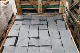Basalt Großpflaster 15x15x12 cm anthrazit