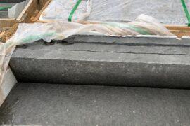 Basalt Kantenstein 6x25x100 cm (25×100 cm) gesägt/gespalten