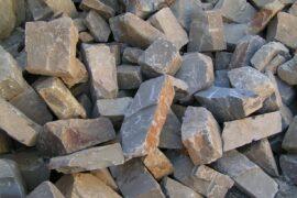 Grauwacke Mauerwerk 10-20×20-30xfreie Längen maschinengespalten