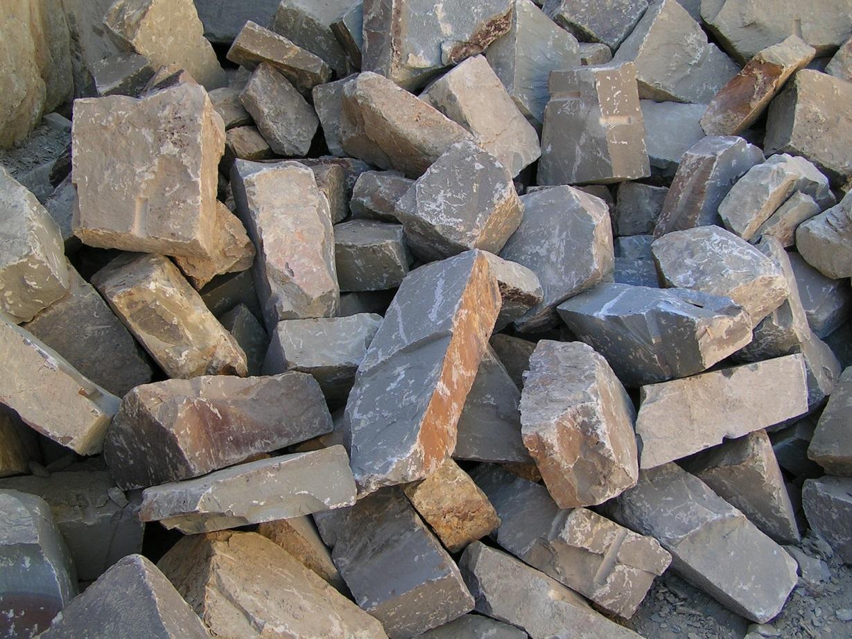 Grauwacke Mauerwerk 6-25×20-40xfreie Längen maschinengespalten