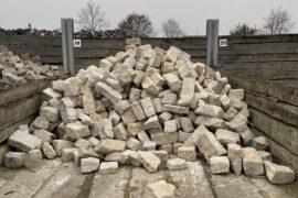 Kalkstein Mauerwerk Amarillo Caliza 10-20×15-25×25-50 cm