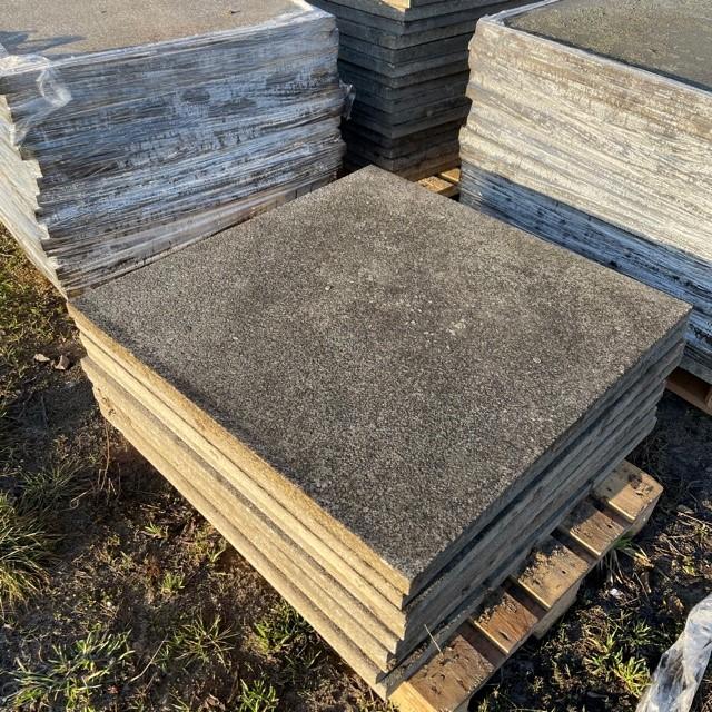 Antike Granitplatte gebraucht 100x100x4 cm