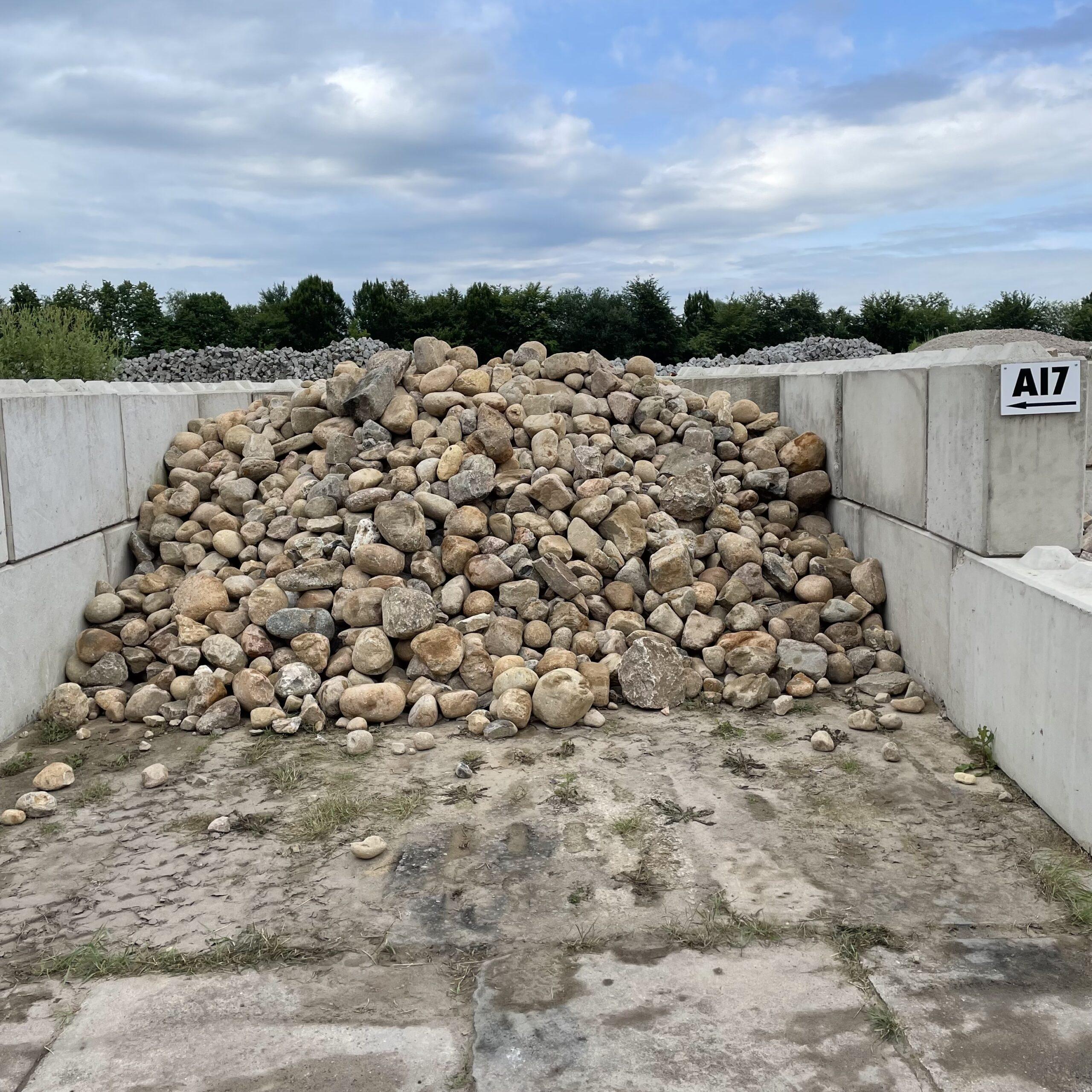Granit Findlinge – Gestaltungssteine ca. 7-40 cm