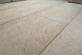 Keramik Terrassenplatte 60x60x2 cm Medi Sand gelb-hellbeige