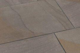 Keramik Terrassenplatte 80x40x2 cm Grauwacke grau-bunt