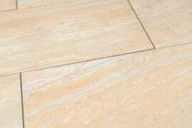 Keramik Terrassenplatte 80x40x2 cm Bahia gelblich-beige