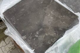 Blaustein Terrassenplatte 60x60x3 cm grau-blau RESTPOSTEN
